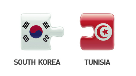 tunisie: Countries High Resolution Puzzle Concept