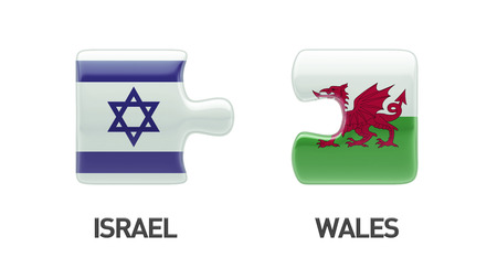 Wales Israel High Resolution Puzzle Concept photo