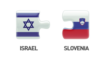 Slovenia Israel High Resolution Puzzle Concept photo