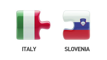 Slovenia Italy High Resolution Puzzle Concept