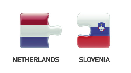 Slovenia Netherlands High Resolution Puzzle Concept