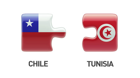 tunisie: Tunisia Chile High Resolution Puzzle Concept