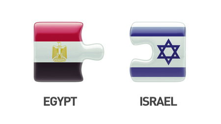 Egypt Israel High Resolution Puzzle Concept photo