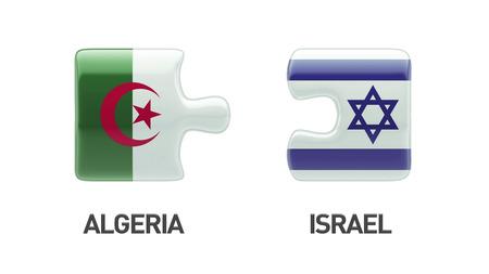 Algeria Israel High Resolution Puzzle Concept photo