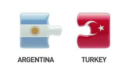 Turkey Argentina High Resolution Puzzle Concept photo
