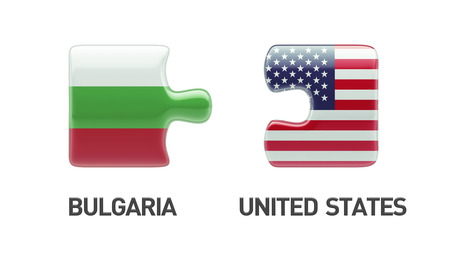 United States Bulgaria High Resolution Puzzle Concept photo
