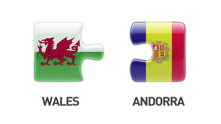 Wales Andorra High Resolution Puzzle Concept photo