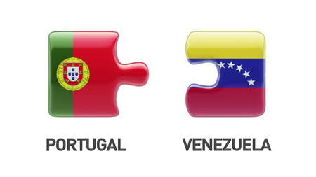 Portugal Venezuela High Resolution Puzzle Concept photo