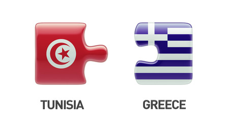 tunisie: Tunisia Greece High Resolution Puzzle Concept