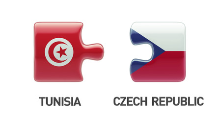 tunisie: Tunisia Czech Republic High Resolution Puzzle Concept