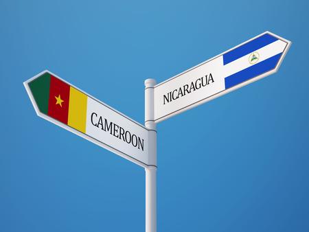 nicaraguan: Cameroon Nicaraguan High Resolution Countries Sign Concept