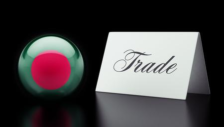 Bangladesh High Resolution Trade Concept photo