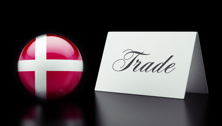 Denmark High Resolution Trade Concept photo