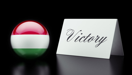 Hungary High Resolution Victory Concept photo