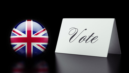 United Kingdom High Resolution Vote Concept