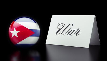 tussle: Cuba High Resolution War Concept Stock Photo