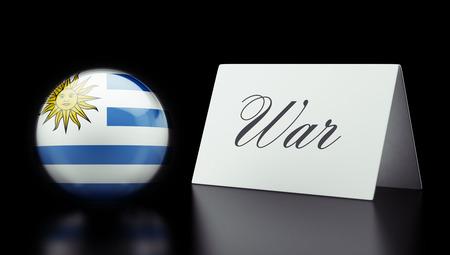 controversy: Uruguay High Resolution War Concept Stock Photo