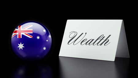 australian money: Australia High Resolution Wealth Concept