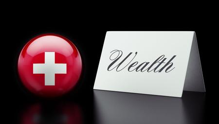 Switzerland High Resolution Wealth Concept
