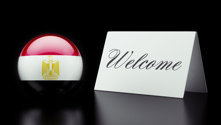 appreciated: Egypt High Resolution Welcome Concept Stock Photo