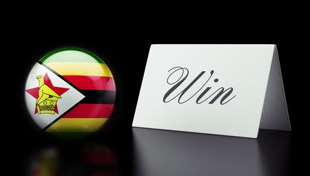 zimbabwe: Zimbabwe High Resolution Win Concept