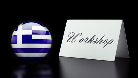 Greece High Resolution Workshop Concept photo