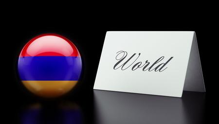 Armenia High Resolution World Concept photo