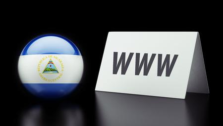 Nicaragua High Resolution www Concept photo