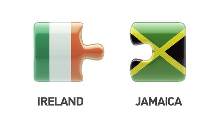 Jamaica Ireland High Resolution Puzzle Concept photo