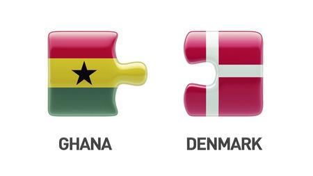 Denmark Ghana High Resolution Puzzle Concept