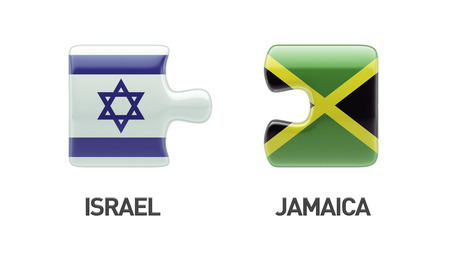 Jamaica Israel High Resolution Puzzle Concept photo