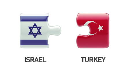Turkey Israel High Resolution Puzzle Concept photo