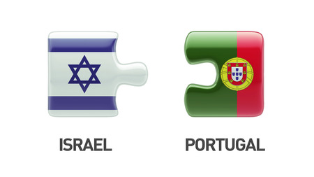Portugal Israel High Resolution Puzzle Concept photo