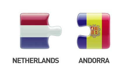 andorra: Andorra Netherlands Puzzle Concept