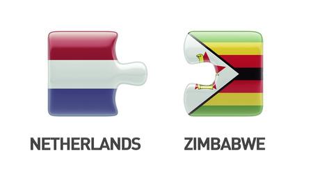 zimbabwe: Zimbabwe Netherlands   Puzzle Concept
