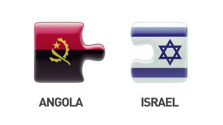Angola Israel High Resolution Puzzle Concept photo