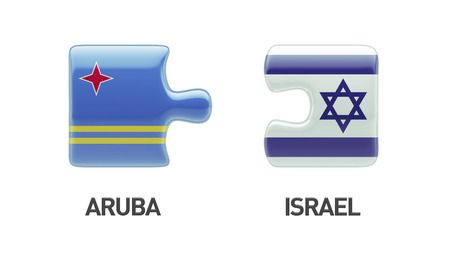 Aruba Israel High Resolution Puzzle Concept photo