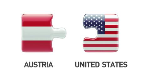 United States Austria High Resolution Puzzle Concept photo