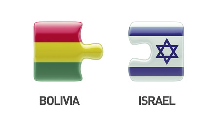 Bolivia Israel High Resolution Puzzle Concept photo