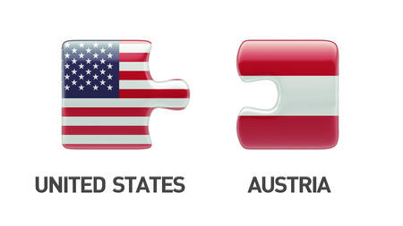 United States Austria High Resolution Puzzle Concept photo