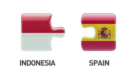 sumatra: Indonesia Spain High Resolution Puzzle Concept