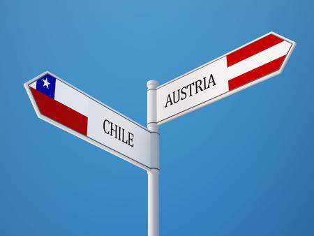 bandera de chile: Austria Alta Resolución Chile flags Regístrate Concept