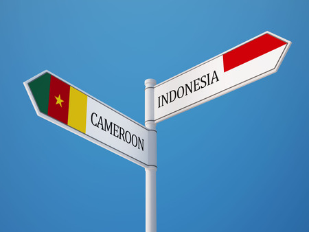sumatra: Cameroon Indonesia High Resolution Countries Sign Concept