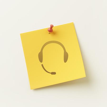 sticky note: High Resolution Sticky Note Concept Icon