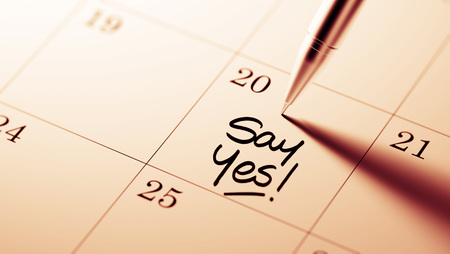 How to say yes to a date over text