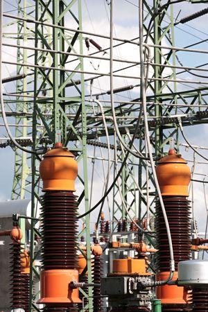 isolator switch: Transformer Stock Photo