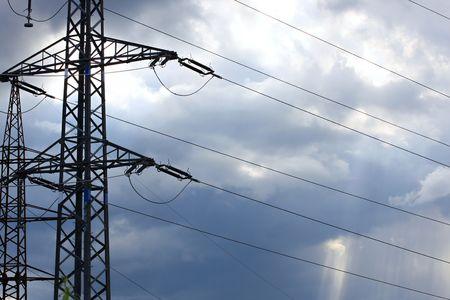 Columns high voltage