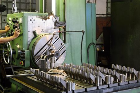 Horizontal milling machine photo