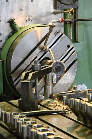 Horizontal milling machine Stock Photo - 5355462