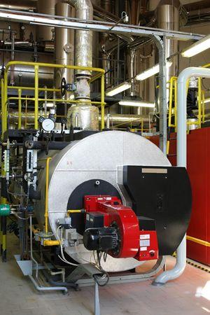 kunststoff rohr: Gas-Dampfkessel